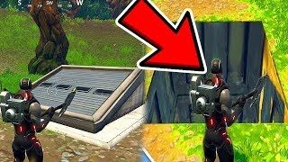 What Happens WHEN you Go INSIDE The SECRET Bunker? Fortnite Battle Royale