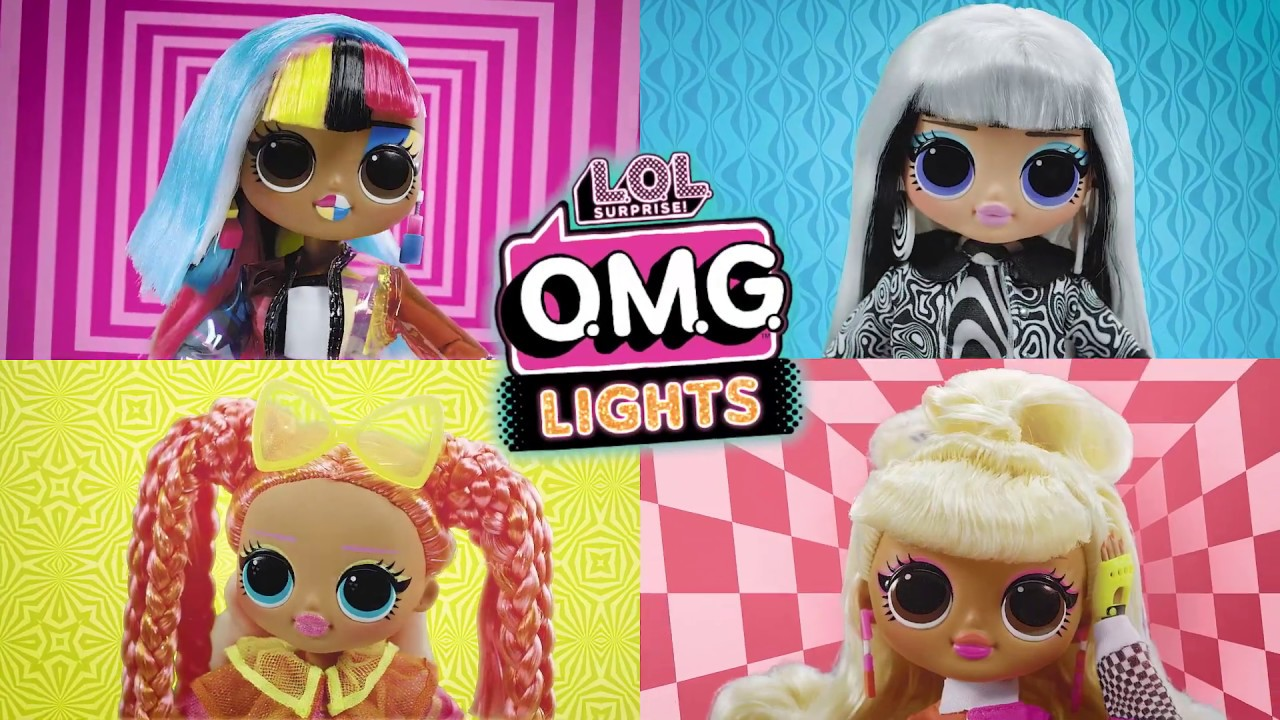 L.O.L. Surprise! LIGHTS O.M.G. Fashion-Puppen | TV-Spot ...