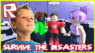 Survive The Disasters - GIANT CAKE | Roblox