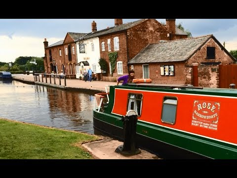 Fradley Junction Trent and Mersey Canal UK