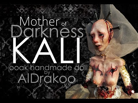 Handmade doll Mother of Darkness Kali / tutorial how to make a doll