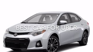 What is the best car to use for Uber.
