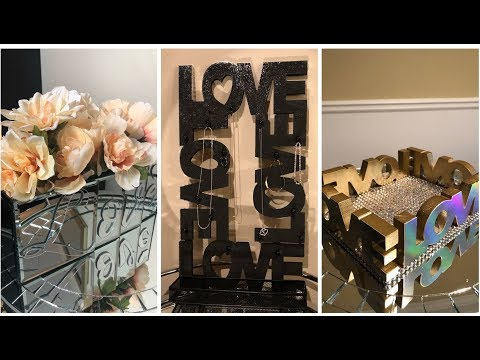 Dollar Tree DIY || 💕 Spreading The Love In 2019 || Glam Home Decor 💕