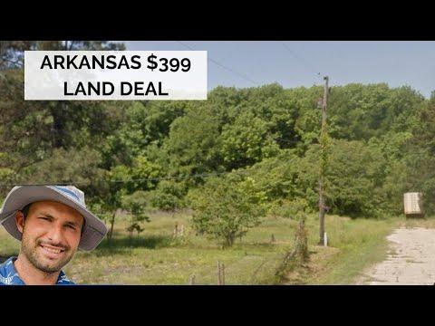 $399 land in Arkansas 1/3 acre
