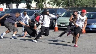 Getting Jumped in the Hood - Pranks 2016 w/ Gangsters Pranks Gone Wrong! Funny Videos - TwinzTV