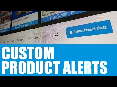 Product Alerts (English)