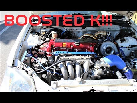 Honda Civic K24 Turbo swap! Mp3