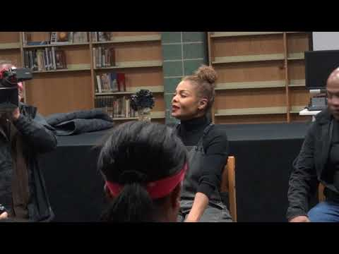 Janet Jackson visits TRCCA