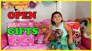 ✔ Funny 2 Year Old Baby Dayla Opens Her Birthday Presents