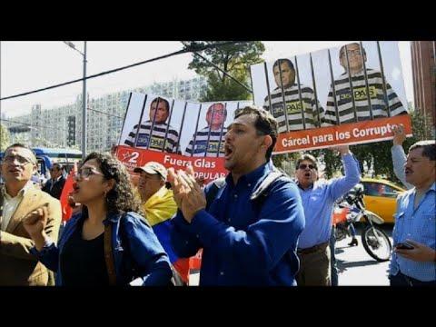 Vice de Ecuador detenido será acusado por caso Odebrecht