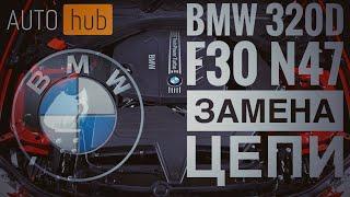 BMW 320d F30 мотор N47   замена цепи зачем менять где менять и сколько это стоит  AUTOhub