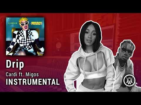 "Cardi B ft. Migos – ""Drip"" INSTRUMENTAL (prod. Nonstop Da Hitman & Cassius Jay)"