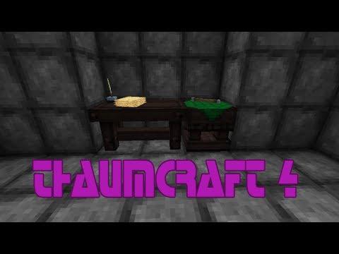 Гайд по моду Thaumcraft 4 - Часть 1 - База изучения