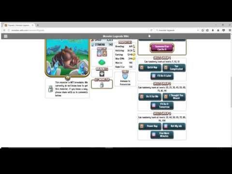Monster legends Guides- Pigredo