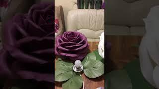 40. Роза из софтина/ светильник