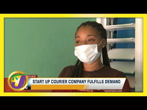 Start Up Courier Company fulfills Demand in Jamaica | TVJ Business Day
