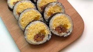 버터 장조림 김밥 ?