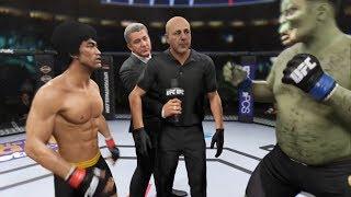 Bruce Lee vs. The Orc (EA Sports UFC 2)