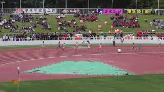 H30 千葉県高校総体 男子200m決勝 21秒13 大会新記録 海鋒泰輝(西武台千葉)