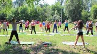 Тренировка WOW Body Open AIR с Анитой Луценко и Юлией Богдан