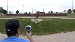 11 YEAR OLD PITCHER BUSHNELL RADAR GUN  IOWA BASEBALL MITCHELL MARTIN