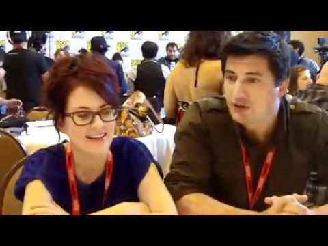 Megan Mullally & Ken Marino ComicCon  Part 1
