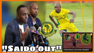 Yanga watoa Tamko zito kwa kitendo cha NTIBAZONKIZA,Saido Out!