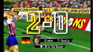 International Superstar Soccer 64 - USA vs Germany Full Game (N64)