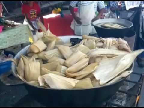 En municipio de Guadalupe en San Vicente celebran festival del maíz