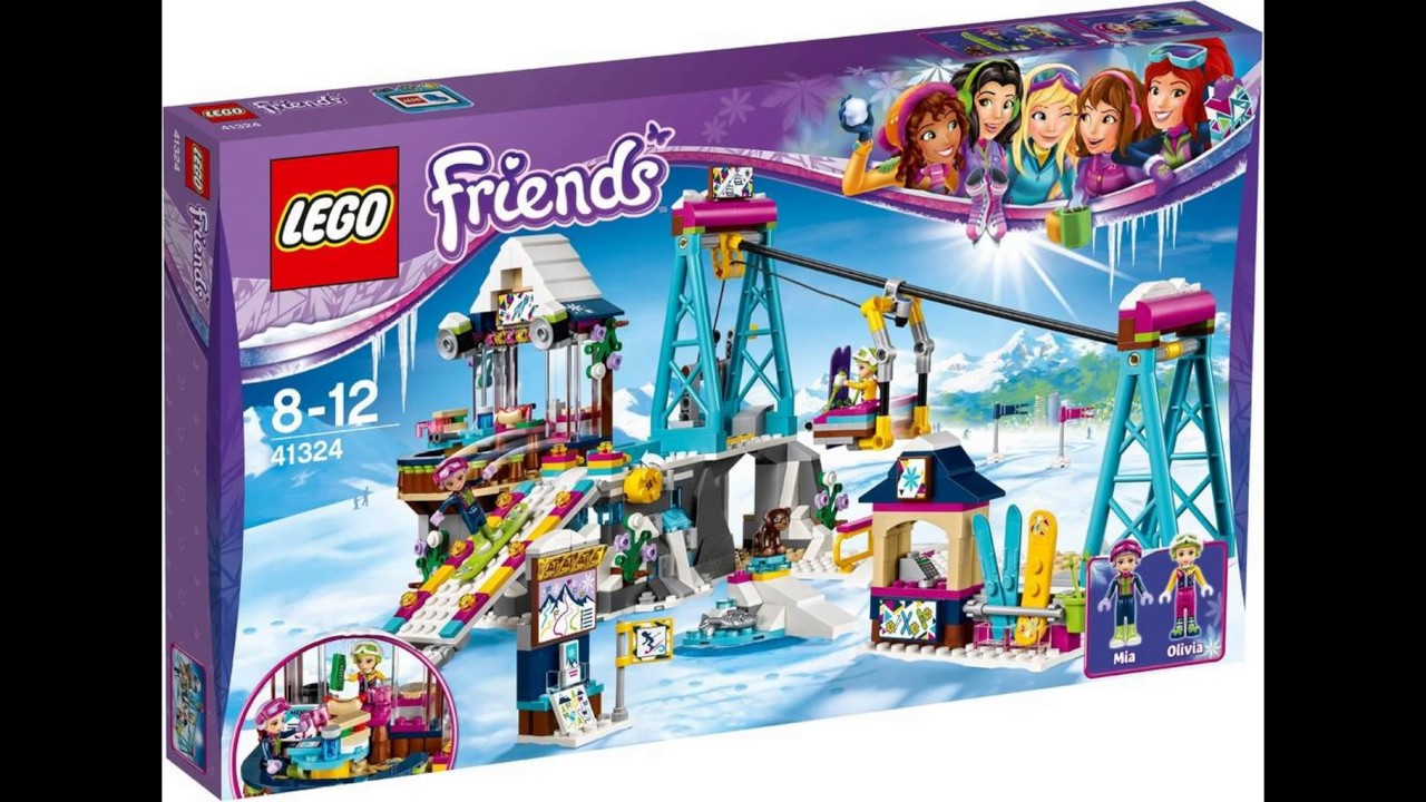 Summer 2017 Lego Friends Sets Youtube