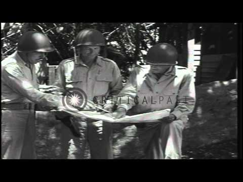 US Marine personnel leave Guadalcanal, Solomon Islands while army takes over duri...HD Stock Footage