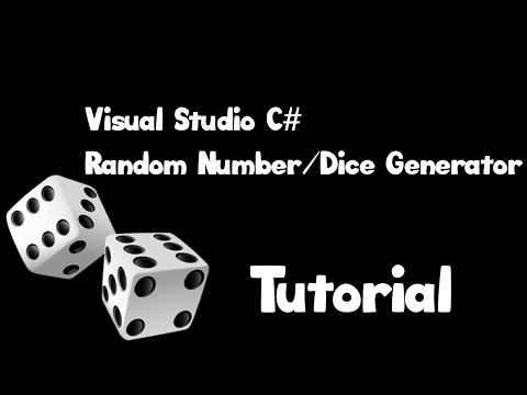 Visual Studio - Random Dice/Number Generator [C#]