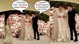 Priyanaka Chopra's Most EMBARASSING Moment In Front of Nick & Guests At Delhi WEDDING Reception