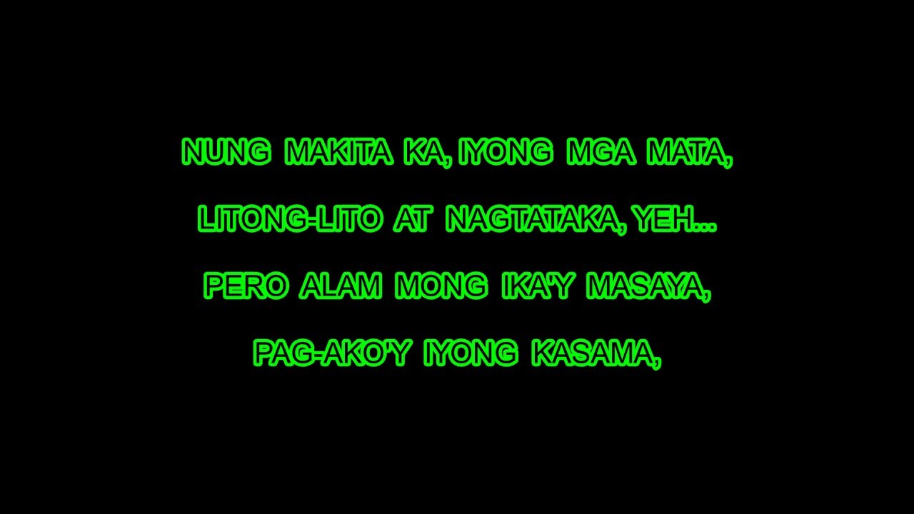 All Lyrics Of Song - dance with my father tagalog lyrics ...