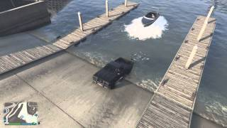 Gta 5 next gen  how not to load a boat on a trailor 2