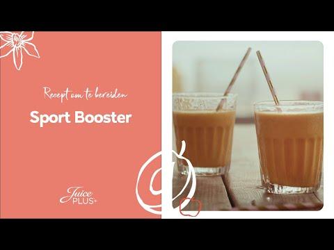 Recept Sport Booster | Hoe maak je een sport shake? | Juice Plus+