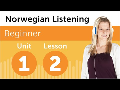 Norwegian Listening Practice - Rearranging the Office in Norway