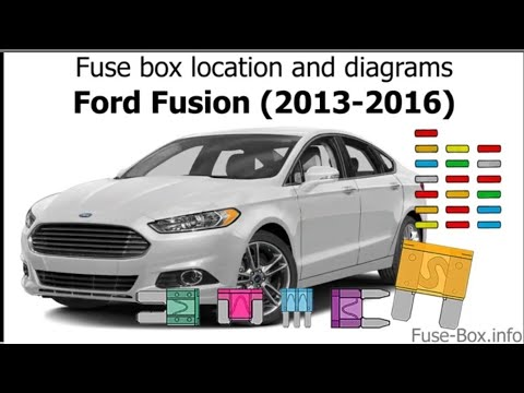 Fuse box location and diagrams: Ford Fusion (2013-2016 ...