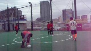 平間FC2001の試合映像です。(4/5試合目) 2008/09/28@横浜.