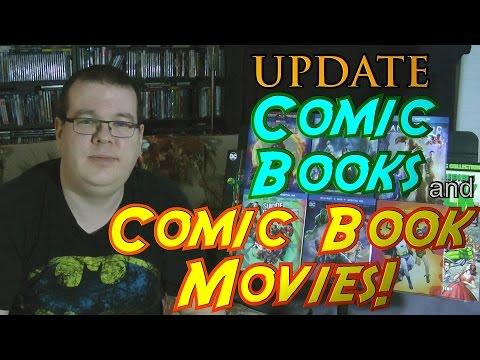 Comic Books and Comic Book Movies UPDATE!