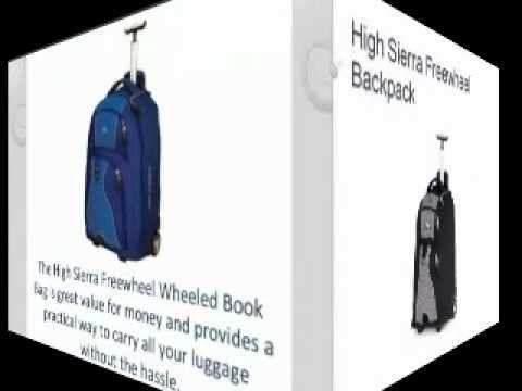 High Sierra Freewheel Wheeled Backpack