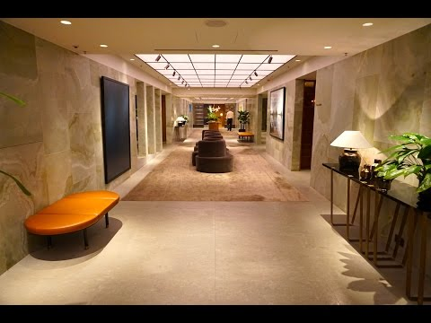 Cathay Pacific FIRST & BUSINESS Lounges - Hong Kong - The Pier, The Wing, The Cabin,  The Bridge