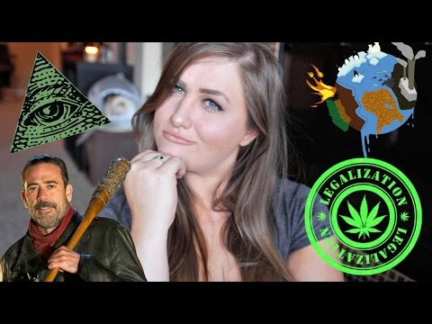 THE WALKING DEAD, LEGALIZING MARIJUANA, 911 CONSPIRACY, GLOBAL WARMING I  Talk Tuesday