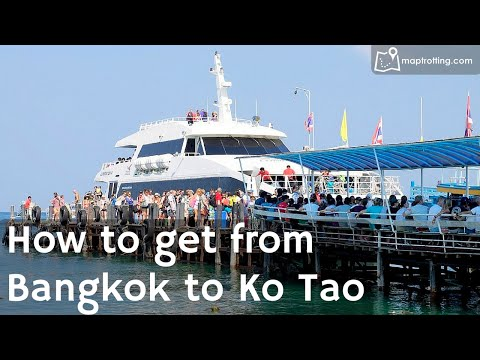 The Journey from Bangkok to Koh Tao
