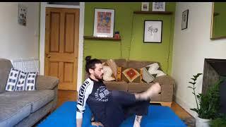 BJJ At Home Live Stream 5/5/20 - Jiu Jitsu Mobility, MMA HIIT Workout, Solo Drills