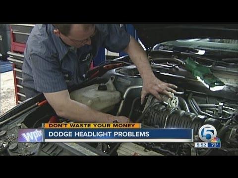 Dodge headlight problems