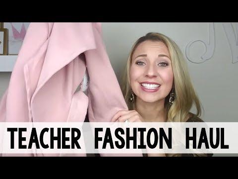 Teacher Fashion Haul - Winter | A Classroom Diva