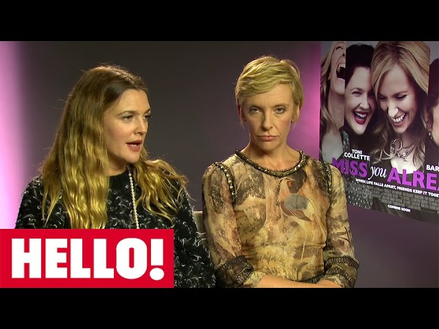 Drew Barrymore and Toni Collette on love, friendship and motherhood for Miss You Already