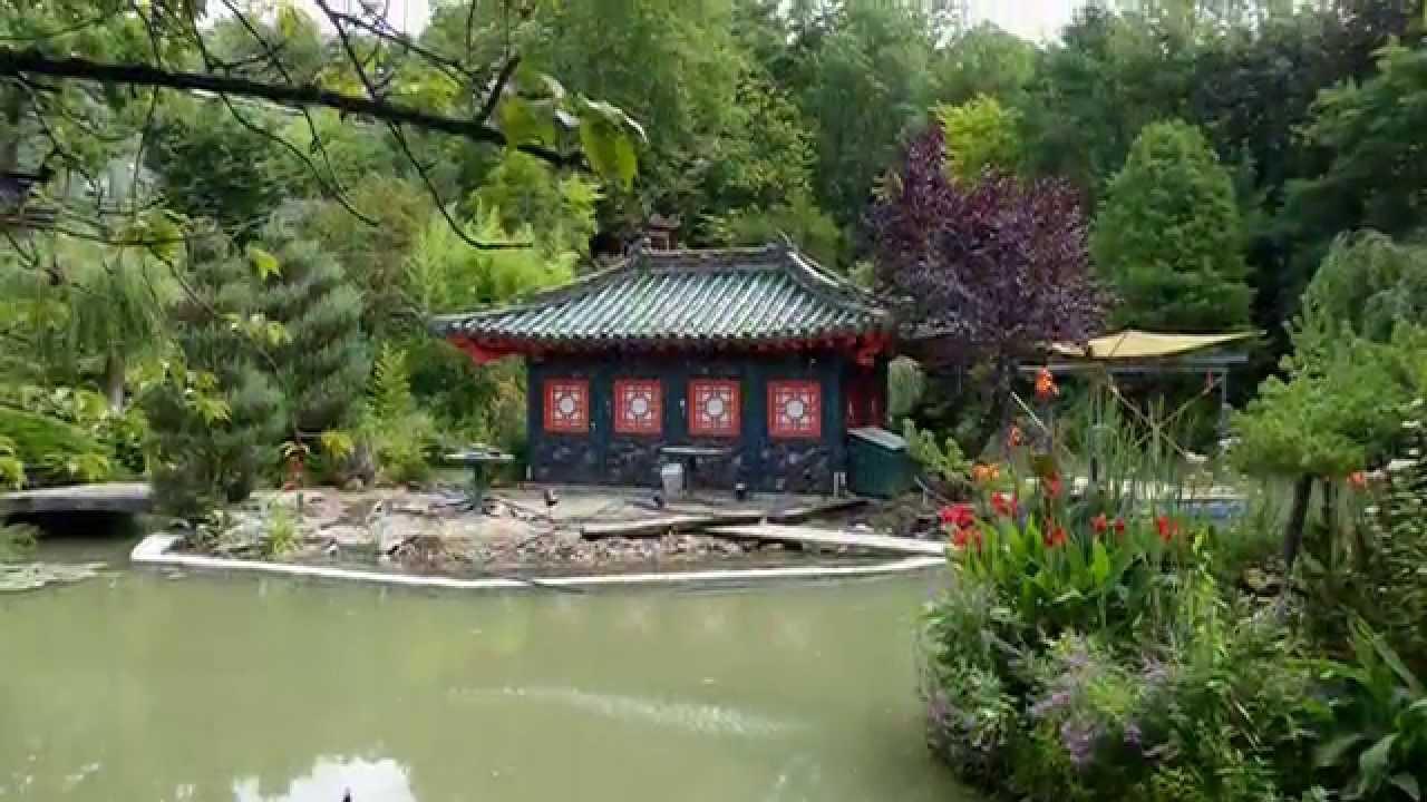 Asiatischer Garten Münzesheim   YouTube