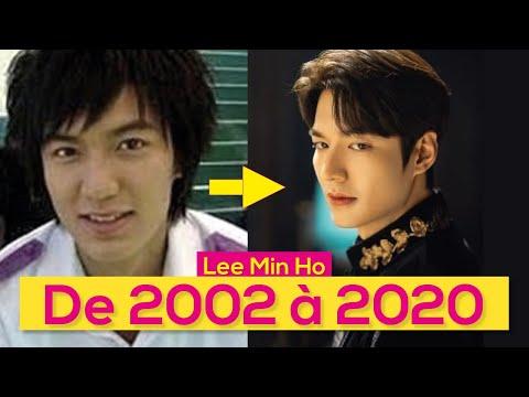 A EVOLUÇÃO DE LEE MIN HO DE 2002 À 2020